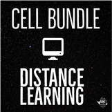 Cell Distance Learning Bundle for Middle School