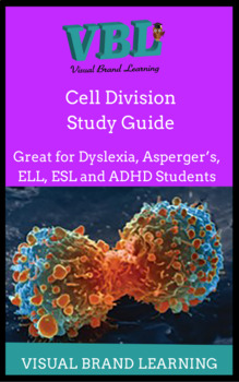 Cell Division  Homeschool, printable, Study Guide