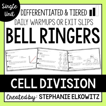 Cell Division Bell Ringers