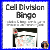 Cell Division Bingo Vocabulary Review Game