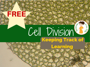 Cell Division Student Learning Objectives