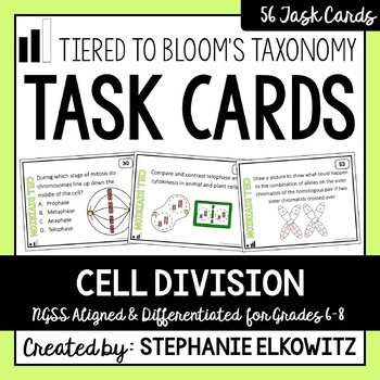 Cell Division Task Cards