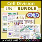 Cell Division Unit - Doodle Notes BUNDLE