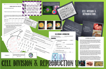 Cell Division and Reproduction: Unit Plan