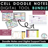 Cell Doodle Notes (Plant and Animal) + Digital Tools [Goog