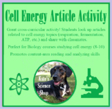 Cell Energy Article Activity