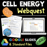 Cell Energy WebQuest: Comparing Cell Respiration and Photo