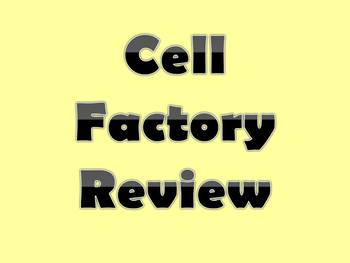 Cell Factory Review PPt and Handout