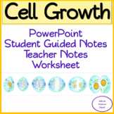 Cell Growth PowerPoint, Guided Notes, and Worksheet.