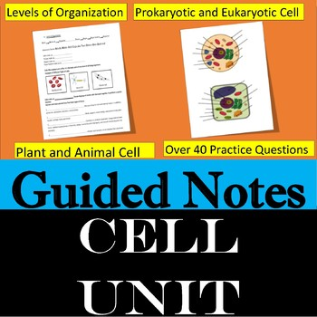 Cell Guided Notes