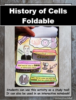 Cell History Foldable