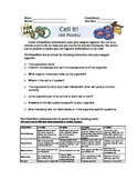 Cell It! Cell Parts and Organelle Jigsaw Presentation