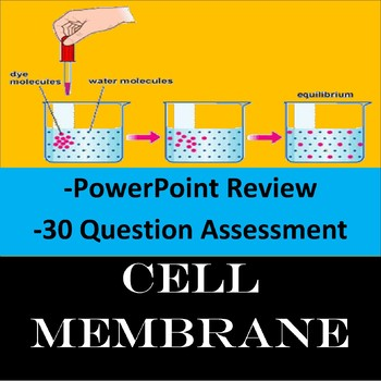 Cell Membrane Review PowerPoint
