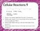Cellular Processes Bell Ringer or Exit Ticket Digital Task Card Set