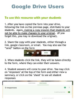 Cell Membrane and Transport Google Form Exit Ticket or Bell Ringer Assessments