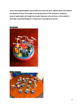 Cell Model Lesson