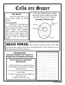 Cell Newspaper