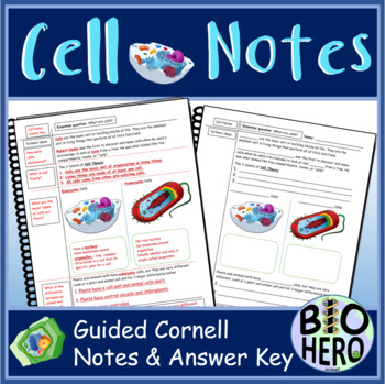 Cell Notes - Cornell Notes Style