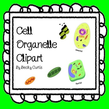 Cell Organelle Clipart