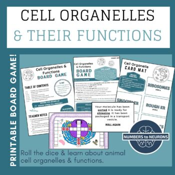 Cell Organelle Functions (BOARD GAME)