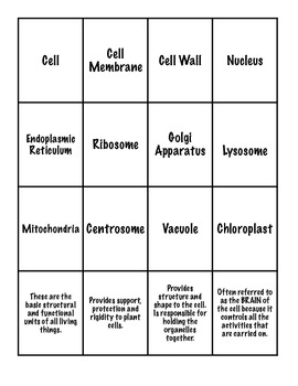 Cell Organelle Go Fish