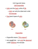 Cell Organelle Notes Completed