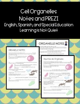 Cell Organelle Notes, Prezi, Activity