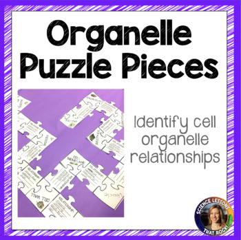 Cell Organelle Puzzle Pieces