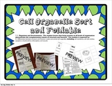 Cell Organelle Sort and Foldable (Plant and Animal)