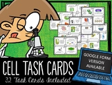 Cell Organelle Task Cards