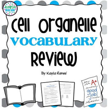 Cell Organelle Vocabulary Review