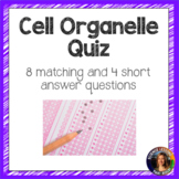 Cell Organelle and Cell Theory Quiz