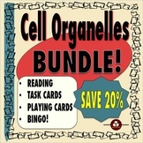 Cell Organelles Bundle: Reading, Task Cards, Games, 3-D Model and More!