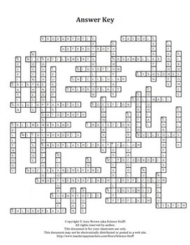 Cell Organelles Crossword P... by Amy Brown Science | Teachers Pay ...