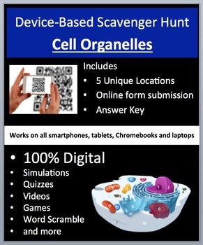 Cell Organelles - Device-Based Scavenger Hunt Activity - Let the Hunt begin!