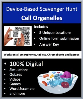Cell Organelles - Device-Based Scavenger Hunt Activity - Let the Hunt begin!