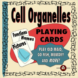 Cell Organelles Playing Cards