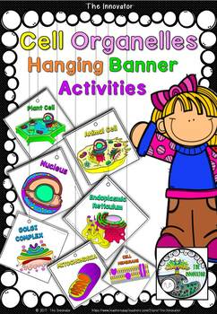 Cell Organelles – Hanging Banner Activities