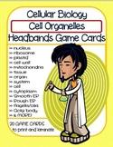 Cell Organelles Headbands (Headbanz) Game Cards