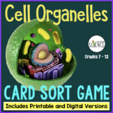 Cell Organelles Card Sort Game