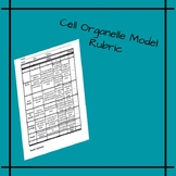 Cell Organelles Model Rubric