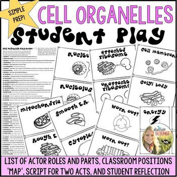 Cell Organelles Play : Script to Act Out the Functions of an Animal Cell