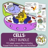 Cells Organelles & Processes - PowerPoint & Handouts Unit - Distance Learning