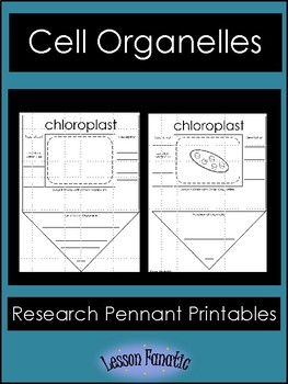 Cell Organelles Research Pennants