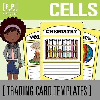 Cell Organelles Science Trading Cards