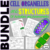 Cell Organelles Bundle of Activities and Assessments