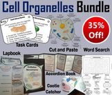 Plant and Animal Cell Organelles and Function Task Cards and Activities Bundle