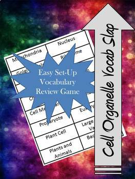 Cell Organelles Vocab Slap (Review Game)