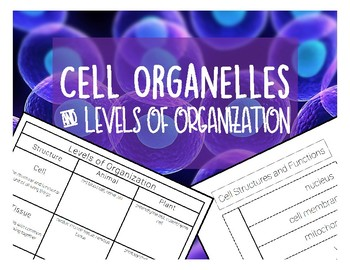 Cell Organelles and Levels of Organization