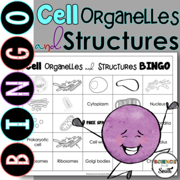 Cell Organelles and Structures BINGO Review Game
